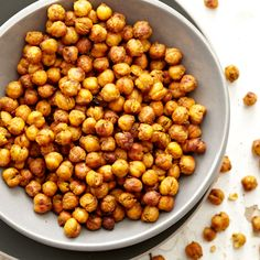 Toasted Chickpeas