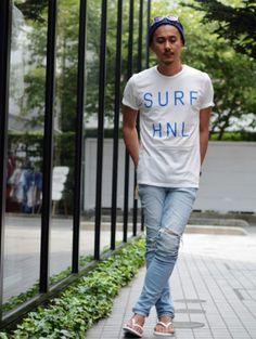 SALVAGE PUBLIC SURF HNL TEE https://etoffe.net/items/show/2004616
