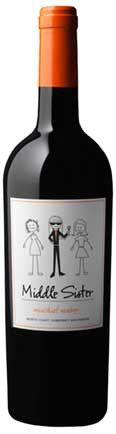 """FINALLY! A wine made especially for me - Middle Sister Wines """"Mischief Maker"""" Cabernet! (I mean, that is what I am after all!)"""
