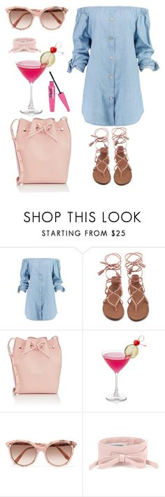 """""""Cosmo girl"""" by glamour11 on Polyvore featuring mode, Boohoo, Mansur Gavriel, Victoria Beckham et Valentino"""
