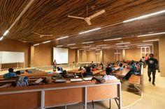 Kéré Architecture · Burkina Institute of Technology · Divisare Tropical Architecture, Contemporary Architecture, Thermal Mass, Rise Art, Minimal Home, Zaha Hadid Architects, Secondary School, Architect Design, Transparent