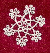 Ring of Tatters - Sally Magill's SCMR Snowflake Patterns