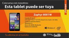 Talius te regala una Zaphir 8001W