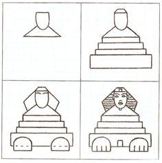 Coloriage oeuvres Ancient Egypt Activities, Ancient Egypt For Kids, Drawing Lessons, Art Lessons, Art History Lessons, History Projects, Art Projects, Egypt Crafts, Magic Treehouse