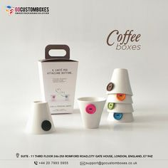 Coffee Box, Coffee Is Life, Beverage Packaging, Custom Boxes, Caffeine, Cool Designs, Beverages, Place Card Holders, Couple