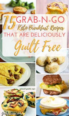15 on-the-go keto breakfast easy recipes for you to make ahead. For those mornings when you need a quick keto breakfast! 15 on-the-go keto breakfast easy recipes for you to make ahead. For those mornings when you need a quick keto breakfast! Quick Keto Breakfast, Ketogenic Breakfast, Healthy Breakfast Recipes, Breakfast Ideas, Breakfast Cereal, Breakfast Gravy, Healthy Breakfasts, Breakfast Casserole, Mcdonalds Breakfast