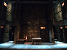 Crime and Punishment. The Cleveland Play House. Scenic design by Lee Savage. 2009