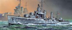 DD-742 USS Frank Knox Gearing Class - Masao Satake