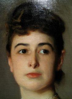 Detail of John Singer Sargent portrait Sargent Art, Oil Portrait, Pencil Portrait, Henri Matisse, Famous Artists, Figure Painting, American Artists, Figurative Art, Oeuvre D'art