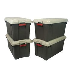 Iris Set of 4 StoritAll Airtight Containers  816 qt $149.99 available on-line. FREE shipping with orders over 50.00.