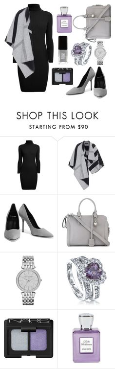 """""""Perfect✔️"""" by sanela-enter ❤ liked on Polyvore featuring Rumour London, Burberry, Pierre Hardy, Alexander McQueen, Michael Kors, BERRICLE, Bella Bellissima and JINsoon"""