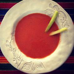 No es gazpacho; es sopa de sandía.