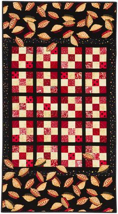 """""""When Pies Fly"""" quilt from Blended Borders by Pamela Mostek.  Love this unique pie pattern'"""