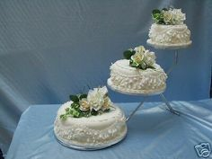 3 Tier Stepped Wedding Cake Stand