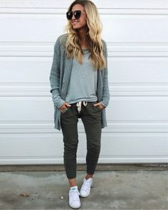 casual and comfy.