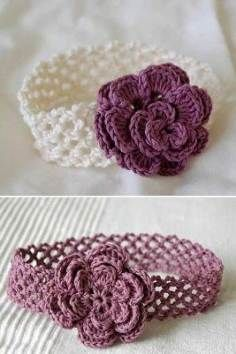 Good Free Crochet Headband baby Popular Learn how to crochet a headband using this no cost beginner's crochet pattern. It is just a easy, Crochet Headband Free, Crochet Flower Headbands, Crochet Beanie, Crochet Flowers, Crochet Hats, Baby Headband Crochet, Rose Headband, Thread Crochet, Baby Girl Crochet