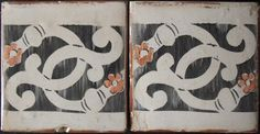 These hand painted terracotta tiles reflect the color and pageantry of the medieval Palio festival in Siena, Italy.