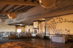 Reagan Room with gobo lighting designs
