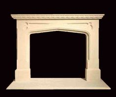 Tavistock limestone fire surround
