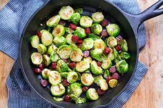 Perfect Brussels Sprouts With Garlic & Kabanos Sausage
