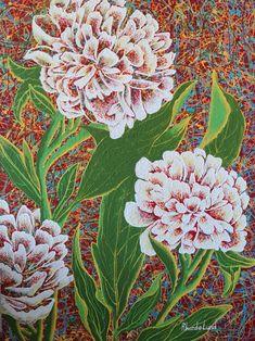 "WILD FLOWERS 1, artist: Rhonda Lund, 48x36"", acrylic on canvas Lund, Rocky Mountains, Peonies, Wild Flowers, Canvas, Artist, Painting, Tela, Artists"