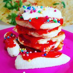 Forbes Birthday Pancake