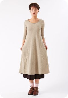 Specks & Keepings — Alma Dress Oatmeal