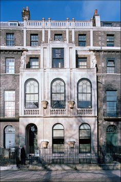 Sir John Soane's House and Museum, 13 Lincoln's Inn Fields, London (1808-12)  Renowned neo-classical architect Sir John Soane built his abode, in the beautiful Lincoln's Inn Fields in Holborn, in two phases in 1808 and 1812. Intending it not only as a home but also as a setting for his extensive collection of antiquities and works of art. Luckily for the general public, Soane left the house as a museum, hoping to educate art and architecture students following in his footsteps.