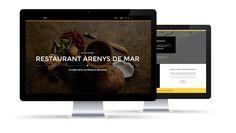Barcelona, Wordpress, Page Layout, Design Web, Restaurants, Barcelona Spain