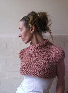 Rosado oscuro de bambú cosechado tanque / el chaleco / el suéter