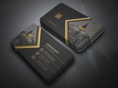 Building Link 780107966688246710 - Creative Business Card by JRpixel on Creative Market Source by rdubor Business Cards Layout, Professional Business Card Design, Luxury Business Cards, Elegant Business Cards, Business Design, Creative Business, Corporate Design, Black Business Card, Logo Design