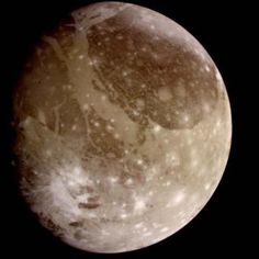 Ganymede : Moon of Jupiter - Ganymede is a satellite of Jupiter and the largest moon in the Solar System. It is the seventh moon and the third Galilean satellite outward from Jupiter -