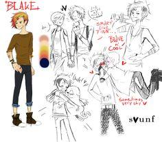 Blake by Sounf.deviantart.com on @DeviantArt