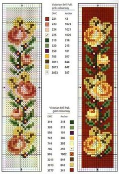 miniature needlework chart, would be awesome done in seed beads down a seam of crazy quilt.