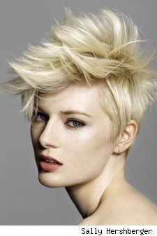 Hairstyles: Faux hawk style