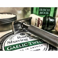 "116 Likes, 2 Comments - Wet Shaving Products (@wetshavingproducts) on Instagram: ""#Repost @cap7597 ・・・ WSP Gaelic Tweed Semogue 1305 Wolfman WR1 Razor @abovethetie Kronos Handle…"""