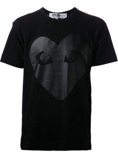 Comme Des Garçons Play Camiseta Com Estampa - Papini - Farfetch.com