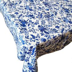 Charmant French Country Tablecloth, Provence Tablecloth, Blue And White Tablecloth,  Round Tablecloth