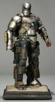 66c796844f Someday I will create your own suit of armor from scrap metal and  explosives. Til then I shall pine for this magnificent maquette.