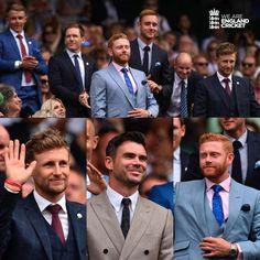 England players in Wimbledon England Cricket Team, England Players, Tom Curran, World Cricket, Cricket Sport, Wimbledon, Gentleman, Champion, Agri Culture
