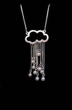 Rainy cloud necklace