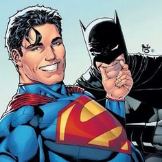 Batman/Superman #14 selfie variant cover