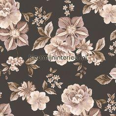 Classic flowers romantisch behang - de behang site