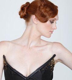 #Wavy Red Hair