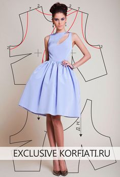 Sewing pattern / Dress