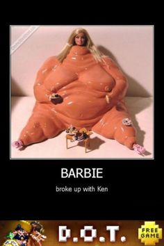 Barbie broke up with Ken