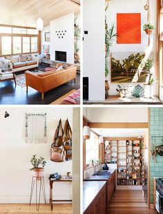The house of Nancybird Designer Emily in Melbourne thanks to The Design Files: