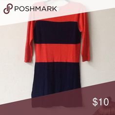 Sweater dress size small Excellent condition Woman's Size Small. About a 4/6 size approx. Charming Charlie Dresses Long Sleeve
