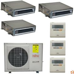 Mxz 8b48na Outdoor Condenser Unit Up To 8 Zone 48 000