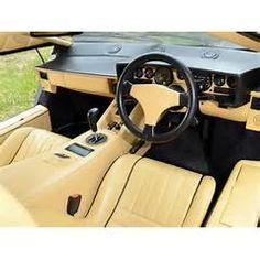 1988 Lamborghini Countach UK-spec classic supercar supercars interior f Maserati, Bugatti, Lamborghini, Mclaren Mercedes, Porsche, Exotic Sports Cars, Koenigsegg, Super Cars, Classic